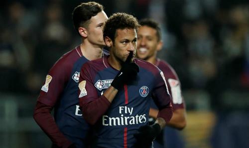 Neymar đang được Real săn đón quyết liệt. Ảnh: Reuters.