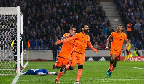 Salah là cầu thủ thứ 12 ghi được ít nhất 30 bàn một mùa cho Liverpool. Ảnh:AFP