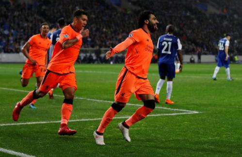 Liverpool dễ dàng hủy diệt Porto nhờ hàng công bùng nổ. Ảnh: Reuters.