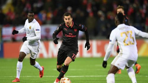 Mkhitaryan hay nhất trận, Arsenal đại thắng ở Europa League