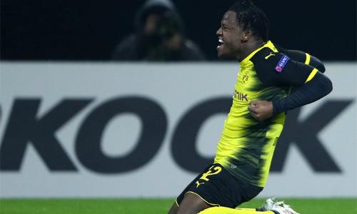 Batshuayi đang trở thành một hiện tượng ở Dortmund. Ảnh: AFP.