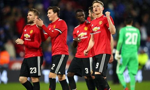 Man Utd sẽ gặp Brighton ở tứ kết Cup FA. Ảnh: Reuters.