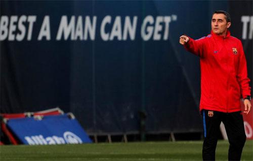 HLV Valverde tiếp quản thành công những gì mà người tiền nhiệm Enrique để lại. Ảnh: Marca