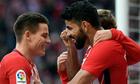 Costa ghi bàn trở lại, Atletico tiếp tục bám đuổi Barca