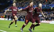 Messi ghi bàn, Barca hòa trên sân của Chelsea