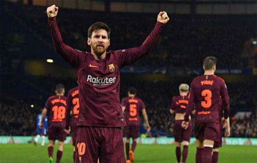 Chelsea không còn là đội bóng kỵ giơ đối với Messi. Ảnh: Reuters
