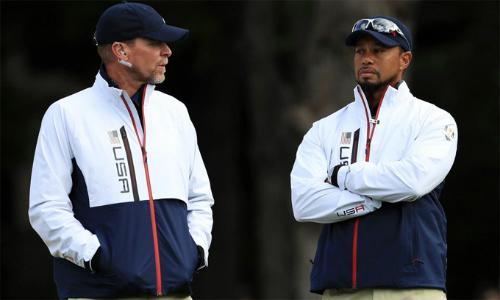 Woods và Stricker là hai cái tên cuối cùng trong thành phần lãnh đội tuyển Mỹ dự Ryder Cup 2018 tại Paris.