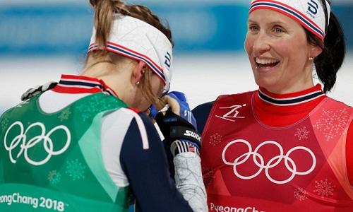 Marit Bjorgen lập kỷ lục số huy chương đoạt tại Olympic Mùa đông