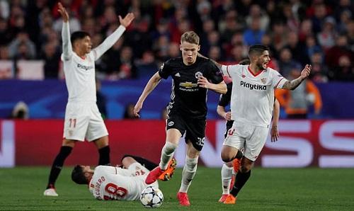 McTominay có màn thể hiện tốt trong lần thứ hai đá chính tại Champions League. Ảnh: Reuters.