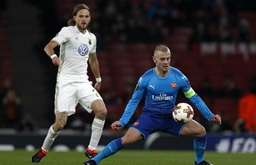 Thua trên sân nhà, Arsenal vẫn đi tiếp ở Europa League