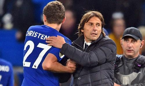 Christensen trưởng thành vượt bậc trong mùa 2017-2018. Ảnh: Reuters.