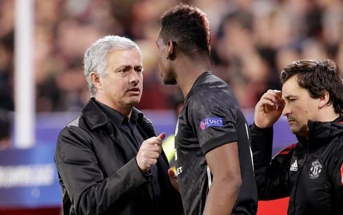 Mourinho vẫn tin tưởng vào khả năng của Pogba. Ảnh: PA.