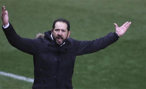 Machin đang thành công trong việc đưa Girona bay cao tại La Liga. Ảnh: Marca