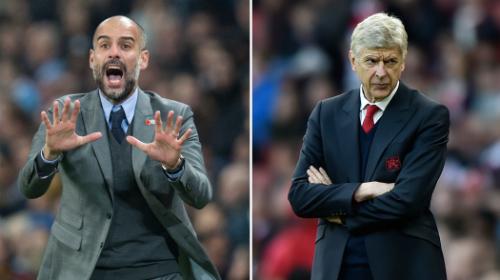 Guardiola và Wenger sẽ đối đầu trực tiếp tại chung kết Cup liên đoàn. Ảnh:Reuters.
