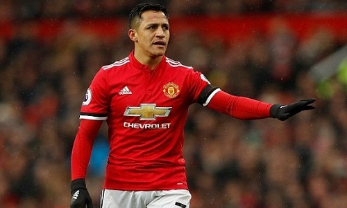 Sanchez chưa thể giúp hàng công Man Utd có sự sáng tạo cần thiết. Ảnh: AFP.