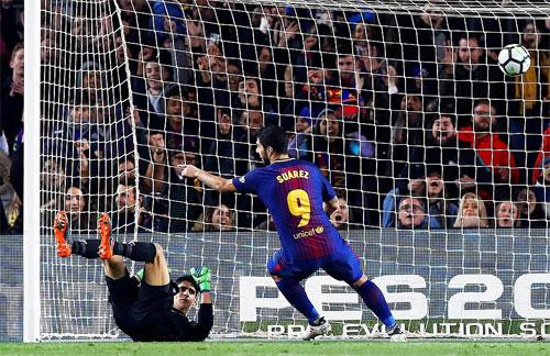 Suarez đã có 20 bàn tại La Liga 2017-2018.
