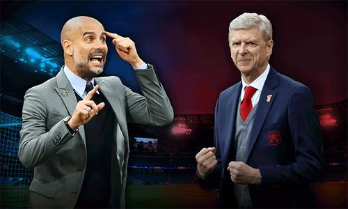 Guardiola - Wenger: Người đương thời gặp kẻ lạc hậu