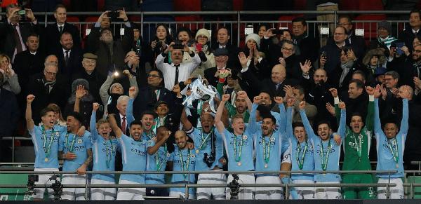 Đây là chiến thắng thứ ba trong 5 năm gần đây của Man City ở Cup Liên đoàn Anh.
