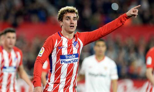 Griezmann đã quen thuộc với bóng đá Tây Ban Nha khi tỏa sáng ở những mùa giải gần đây. Ảnh:AFP.