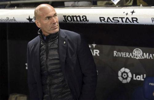 Real của Zidane đã thua năm trận tại La Liga 2017-2018. Ảnh: Reuters