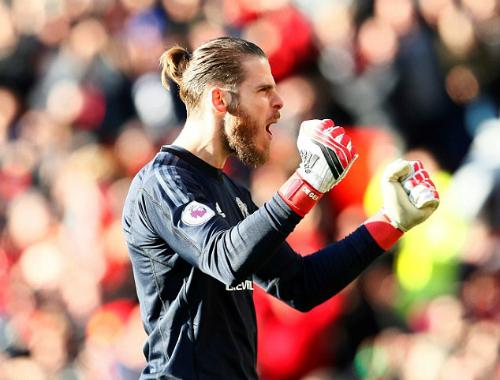 De Gea được đánh giá là thủ môn hay nhất thế giới. Ảnh:Reuters.