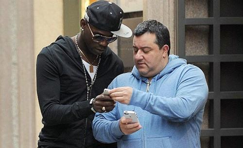 Siêu cò Raiola: Balotelli có giá 122 triệu đôla