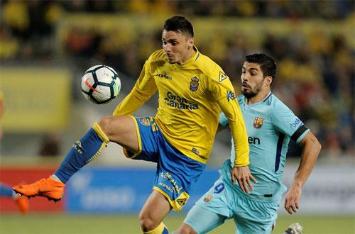 Las Palmas phong tỏa thành công Luis Suarez.