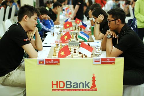 Giải Cờ Quốc tế HDBank đã đưa Việt Nam ra thế giới và mang thế giới đến gần Việt Nam  giải có nhiều kỳ thủ nước ngoài tham dự.