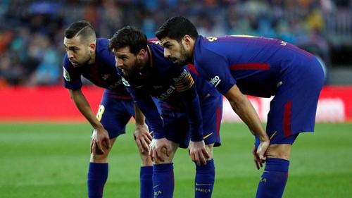 Barca có nhiều cơ hội vô địch La Liga mùa 2017-2018. Ảnh: Reuters.