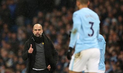 Guardiola hài lòng với màn trình diễn của các học trò. Ảnh: AFP.
