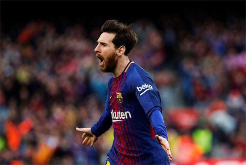 Messi đã có 600 bàn trong 13 năm thi đấu đỉnh cao. Ảnh: Reuters