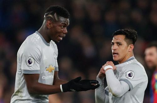 Hai ngôi sao của Man Utd không để lại dấu ấn tích cực. Ảnh:Reuters.