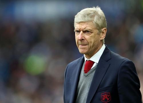 Wenger đang trong mùa giải tồi tệ nhất kể từ khi dẫn dắt Arsenal. Ảnh: PA.