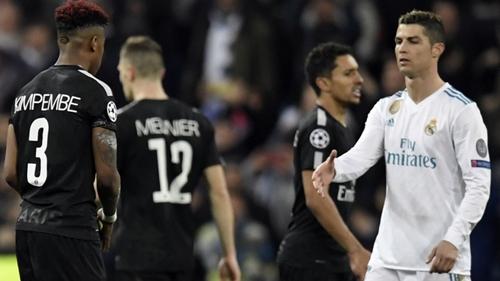 Real Madrid cần cảnh giác trước PSG ở lượt về. Ảnh: Reuters.