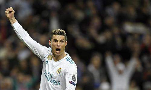 Giống nửa cuối mua trước, Ronaldo đang cho thấy sự ổn định và vai trò đầu tàu, toả sáng ở những thời điểm quyết định, giúp Real chiến thắng. Ảnh: Reuters.