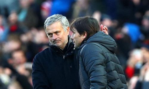 Mourinho bênh vực Conte trước bão chỉ trích. Ảnh: Reuters.