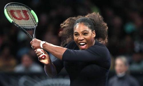 Serena muốn bắt đầu hành trình lấy lại vị thế tại WTA. Ảnh: AP.