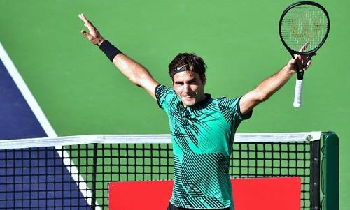 Federer có cơ hội lớn để bảo vệ ngôi vương Indian Wells.