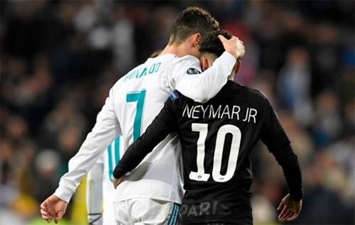 Real muốn Neymar đến sân Bernabeu để kế tục Ronaldo. Ảnh: Reuters