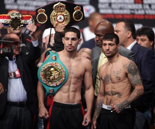 Garcia và Matthysse, hai võ sĩ có khả năng thượng đài với Pacquiao. Ảnh: AFP.