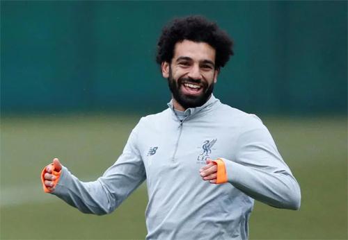 Mohamed Salah có trái tim hướng đến những hoàn cảnh khó khăn. Ảnh: Reuters