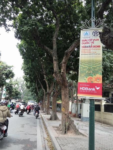 Sau bảy năm tổ chức ở TP.HCM, giải cờ HDBank lần đầu xuất hiện ở Hà Nội. Ảnh: Xuân Bình