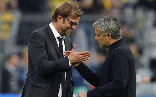 Mourinho có nhiều thời gian làm việc ở Anh hơn Klopp. Ảnh: Reuters.