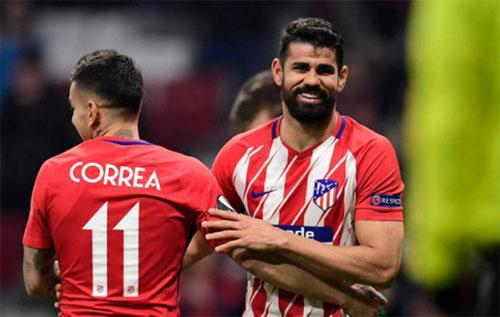 Atletico là ứng cử viên hàng đầu tại Europa League mùa này. Ảnh: Reuters