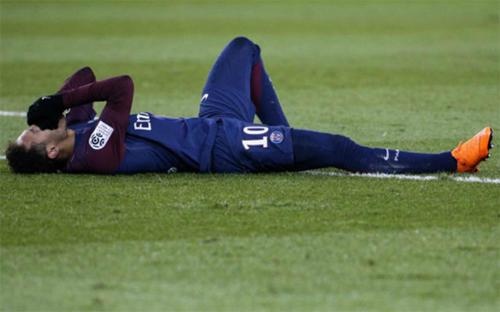 Neymar phải chờ đến mùa giải sau để hoàn thành mục tiêu giúp PSG vô địch châu Âu. Ảnh: Reuters