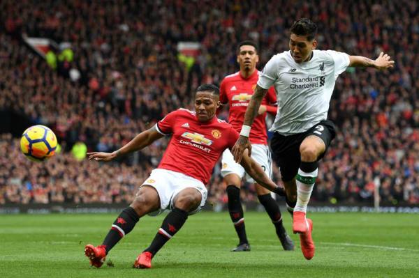 Hàng thủ Man Utd chơi tốt và chỉ thua một bàn từ lỗi cá nhân. Ảnh:AFP.