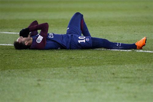 Số 10 thất vọng về những gì đang diễn ra tại PSG. Ảnh: Reuters