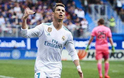 Chuỗi phong độ cao của Ronaldo chưa có dấu hiệu dừng lại. Ảnh: Reuters