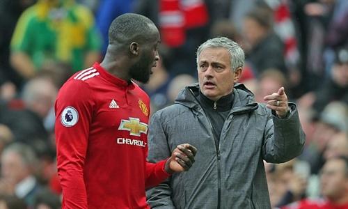 Mourinho hài lòng với những đóng góp của Lukaku. Ảnh: Shutter Stock.
