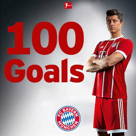 Bayern chúc mừng Lewandowski trên Twitter.